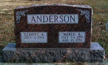 ANDERSON, MERLE ANDREW - Madison County, Iowa | MERLE ANDREW ANDERSON