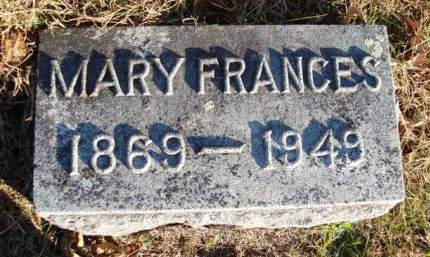 ANDERSON, MARY FRANCES - Madison County, Iowa | MARY FRANCES ANDERSON