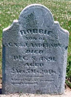 ANDERSON, ROBERT  WILLIAM (ROBBIE) - Madison County, Iowa | ROBERT  WILLIAM (ROBBIE) ANDERSON