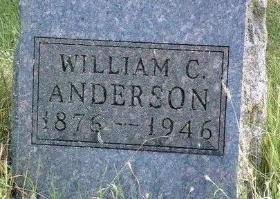 ANDERSON, WILLIAM C. - Madison County, Iowa | WILLIAM C. ANDERSON