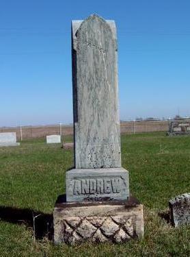 ANDREW, FAMILY STONE - Madison County, Iowa | FAMILY STONE ANDREW