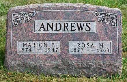 ANDREWS, ROSA M. - Madison County, Iowa | ROSA M. ANDREWS