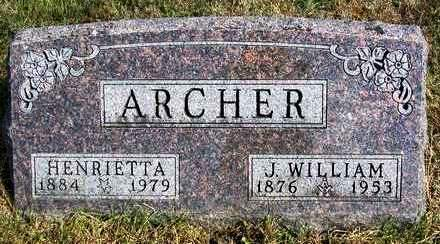 ARCHER, JOHN WILLIAM - Madison County, Iowa | JOHN WILLIAM ARCHER
