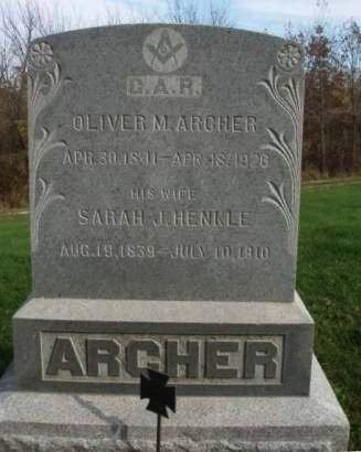 ARCHER, SARAH JANE - Madison County, Iowa | SARAH JANE ARCHER