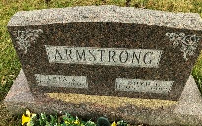 ARMSTRONG, LETA BLANCHE - Madison County, Iowa | LETA BLANCHE ARMSTRONG