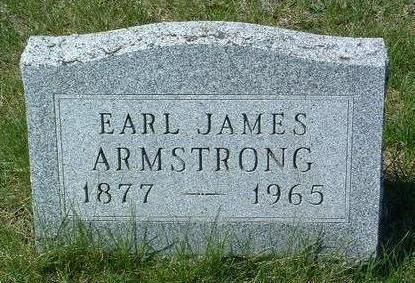 ARMSTRONG, EARL JAMES - Madison County, Iowa   EARL JAMES ARMSTRONG