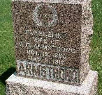 ARMSTRONG, EVANGELINE - Madison County, Iowa | EVANGELINE ARMSTRONG