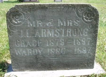 ARMSTRONG, JOHN WARD (WARDY) - Madison County, Iowa | JOHN WARD (WARDY) ARMSTRONG