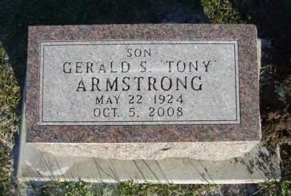 ARMSTRONG, GERALD S. (TONY) - Madison County, Iowa   GERALD S. (TONY) ARMSTRONG