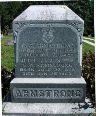 ARMSTRONG, GEORGE WASHINGTON - Madison County, Iowa | GEORGE WASHINGTON ARMSTRONG
