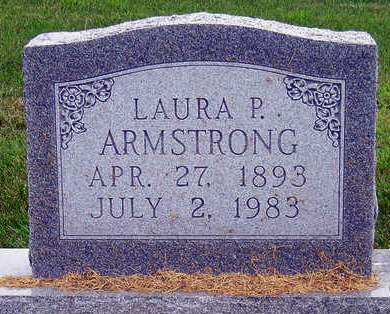 ARMSTRONG, LAURA PEARL - Madison County, Iowa | LAURA PEARL ARMSTRONG