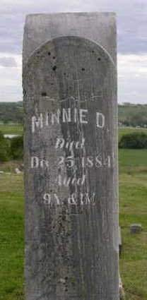 ARMSTRONG, MINNIE D. - Madison County, Iowa   MINNIE D. ARMSTRONG