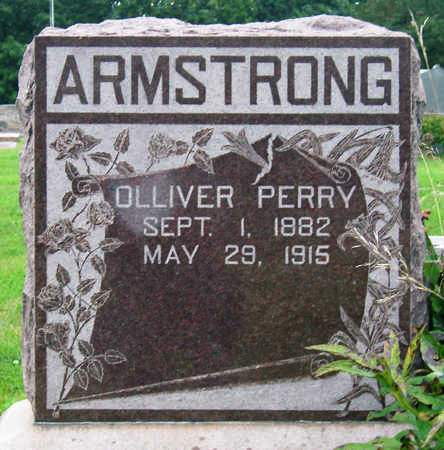 ARMSTRONG, OLLIVER PERRY - Madison County, Iowa   OLLIVER PERRY ARMSTRONG