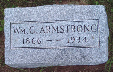 ARMSTRONG, WILLIAM GRANT - Madison County, Iowa | WILLIAM GRANT ARMSTRONG