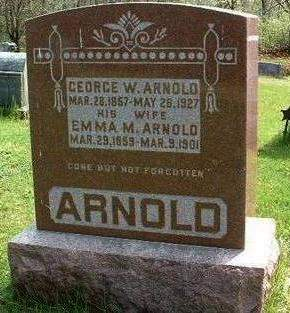 ARNOLD, GEORGE W. - Madison County, Iowa | GEORGE W. ARNOLD