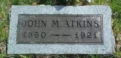 ATKINS, JOHN MARBLE - Madison County, Iowa | JOHN MARBLE ATKINS