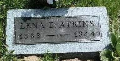 ATKINS, ALENA ELLEN (LENA) - Madison County, Iowa   ALENA ELLEN (LENA) ATKINS