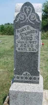 ATKINSON, MARY OLIVE - Madison County, Iowa | MARY OLIVE ATKINSON