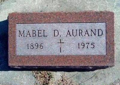 AURAND, MABEL DORTHEA FREDERICKA - Madison County, Iowa | MABEL DORTHEA FREDERICKA AURAND