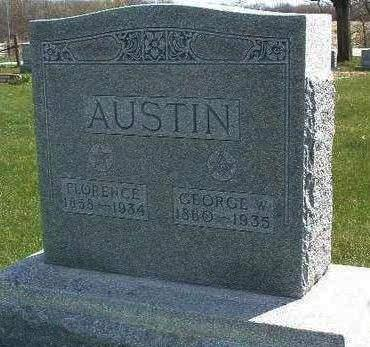 AUSTIN, GEORGE W. - Madison County, Iowa | GEORGE W. AUSTIN