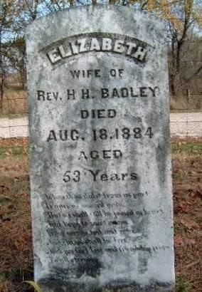 BADLEY, ELIZABETH - Madison County, Iowa | ELIZABETH BADLEY