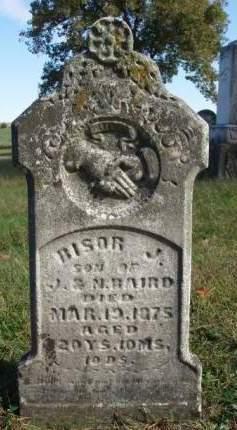BAIRD, BISOR JAMES - Madison County, Iowa | BISOR JAMES BAIRD