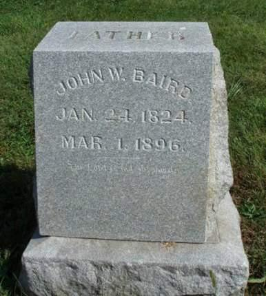 BAIRD, JOHN W. - Madison County, Iowa | JOHN W. BAIRD