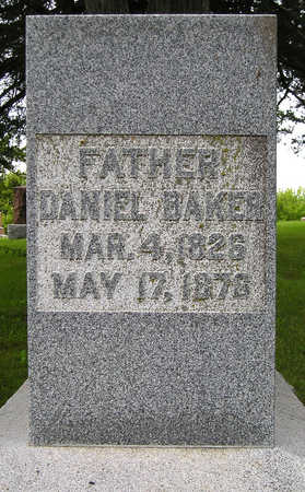 BAKER, DANIEL - Madison County, Iowa   DANIEL BAKER