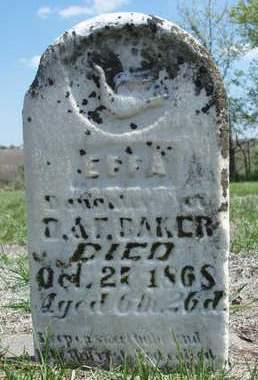 BAKER, EFFA - Madison County, Iowa | EFFA BAKER