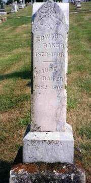 BAKER, EDWARD (BRIG) - Madison County, Iowa | EDWARD (BRIG) BAKER