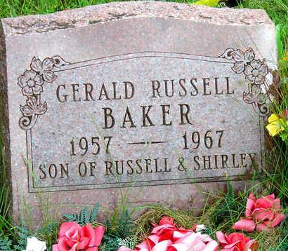 BAKER, GERALD RUSSELL - Madison County, Iowa | GERALD RUSSELL BAKER