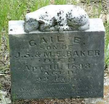 BAKER, GAIL E. - Madison County, Iowa | GAIL E. BAKER