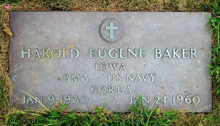 BAKER, HAROLD EUGENE - Madison County, Iowa | HAROLD EUGENE BAKER