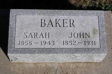 BAKER, SARAH ANN - Madison County, Iowa | SARAH ANN BAKER
