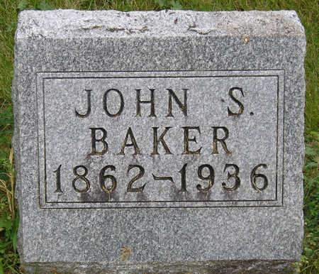 BAKER, JOHN S. - Madison County, Iowa | JOHN S. BAKER