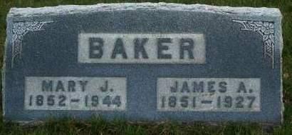 BAKER, JAMES A. - Madison County, Iowa | JAMES A. BAKER