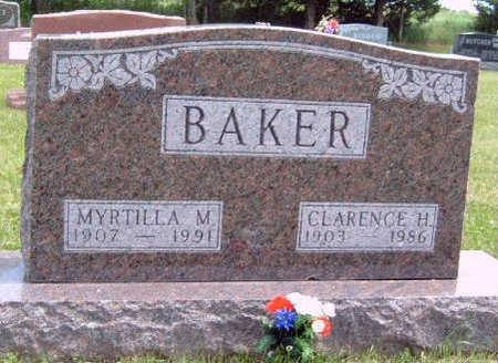 BAKER, CLARENCE HAYS - Madison County, Iowa | CLARENCE HAYS BAKER