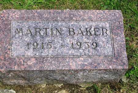 BAKER, MARTIN - Madison County, Iowa   MARTIN BAKER
