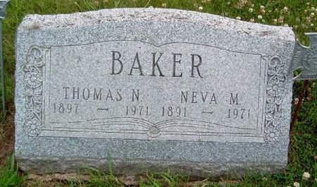 BAKER, THOMAS NELSON - Madison County, Iowa | THOMAS NELSON BAKER