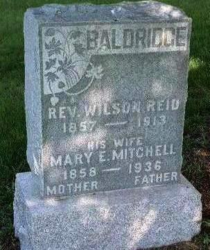 BALDRIDGE, WILSON REID - Madison County, Iowa | WILSON REID BALDRIDGE