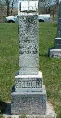 BALDWIN, LORENZO JACKSON - Madison County, Iowa   LORENZO JACKSON BALDWIN