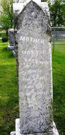 BALDWIN, MARY ESTHER - Madison County, Iowa   MARY ESTHER BALDWIN