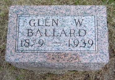 BALLARD, GLEN WOOD - Madison County, Iowa   GLEN WOOD BALLARD