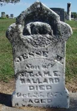 BALLARD, JESSIE H. - Madison County, Iowa   JESSIE H. BALLARD