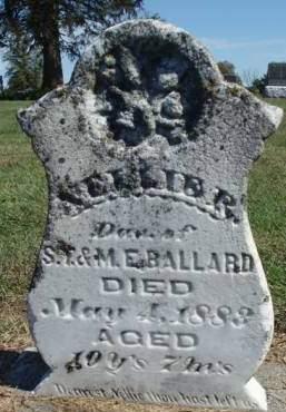 BALLARD, NELLIE R. - Madison County, Iowa | NELLIE R. BALLARD