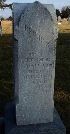 BALLARD, PHILLIP S. - Madison County, Iowa | PHILLIP S. BALLARD