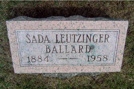 BALLARD, SADA ANN - Madison County, Iowa | SADA ANN BALLARD
