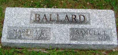 BALLARD, SAMUEL THURSTON - Madison County, Iowa | SAMUEL THURSTON BALLARD