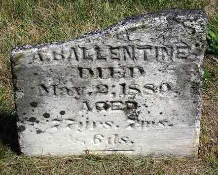 BALLENTINE, MARY - Madison County, Iowa   MARY BALLENTINE