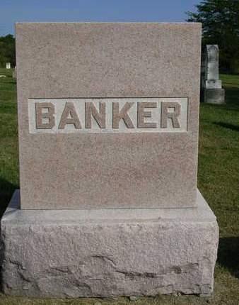 BANKER, FAMILY HEADSTONE - Madison County, Iowa | FAMILY HEADSTONE BANKER